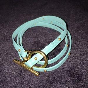 Vintage Gorjana leather bracelet